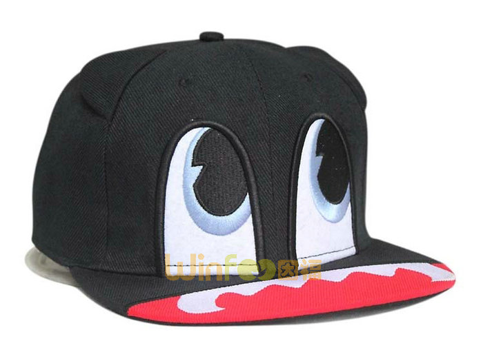 勇发服饰-超可爱儿童卡通平沿帽 嘻哈帽