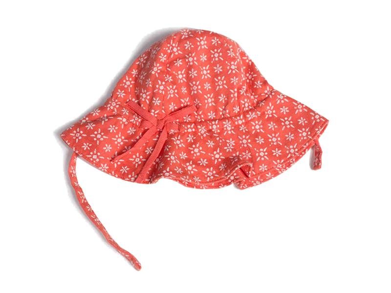 勇发服饰-外贸出口专业订做小女孩遮阳帽 夏季户外渔夫边帽 桶帽-RM412