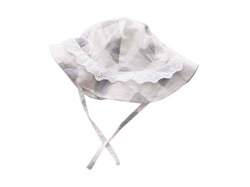勇发服饰-儿童装饰花边春夏户外遮阳盆帽 RM468