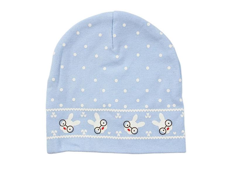 勇发服饰-点点小兔子印花套头帽订制加工 AM092