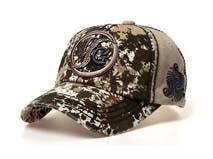 勇发服饰-水洗做旧 复古棒球帽定做 -BM063