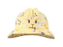 勇发服饰-黄色儿童小兔耳朵小边帽定做 -RM011