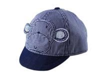 勇发服饰-小孩帽条纹棒球帽小猴 定做-RM034