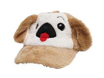 勇发服饰-儿童毛毛可爱小狗时尚棒球帽定做-RH050