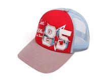 勇发服饰-儿童网帽做旧复古帽定做 -RM057
