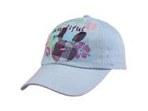 勇发服饰-儿童纯色全棉卡通棒球帽 -RM065