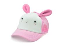 勇发服饰-儿童透气可爱兔子棒球帽定做-RM092