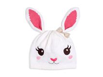 勇发服饰-儿童 婴儿兔子可爱套头帽定做-RM094