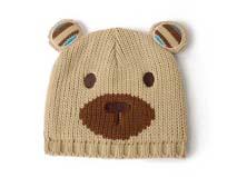 勇发服饰-儿童卡通熊针织帽-RM114