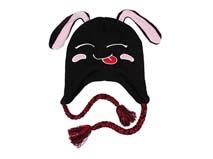 勇发服饰-小兔子儿童风雪帽订做-RM119