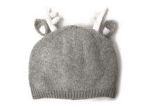 勇发服饰-针织可爱小鹿角儿童帽定做-RM123
