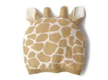 勇发服饰-儿童长颈鹿可爱针织帽定做-RM124