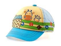 勇发服饰-儿童五页绣花棒球帽订做-RM159