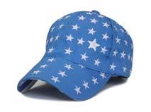 勇发服饰-儿童星星棒球帽定做 -RM160