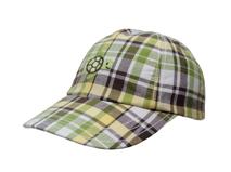 勇发服饰-时尚简约格子小乌龟儿童 女士春夏棒球帽 鸭舌帽订制 -BM098