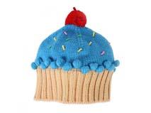 勇发服饰-儿童毛毛球蛋糕针织帽定做-RM175