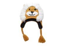 勇发服饰-儿童卡通狮子针织帽定做 -RM180