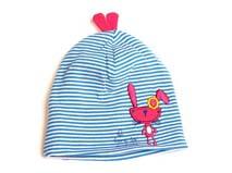 勇发服饰-儿童卡通兔子条纹套头帽-RM186