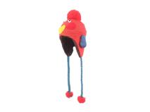勇发服饰-儿童条纹卡通护耳针织帽定做-RM205