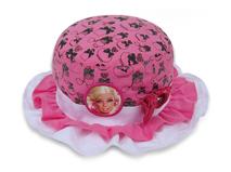 勇发服饰-儿童折边芭比娃娃可爱边帽定做-RM214