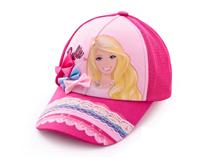 勇发服饰-女孩蕾丝拼接可爱棒球帽定做 -RM218
