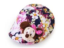 勇发服饰-儿童碎花米老鼠可爱鸭舌帽定做 小清新款-RM219