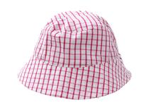 勇发服饰-儿童时尚格子遮阳帽定做-RM225