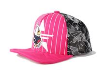 勇发服饰-卡通小鸟条纹印花五页棒球网帽定做-RM230