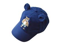 勇发服饰-儿童蓝色耳朵卡通动物五叶棒球鸭舌帽订制-RM255