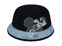 勇发服饰-儿童撞色拼接米老鼠印花户外遮阳渔夫边帽 桶帽定制-RM262