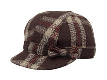 勇发服饰-时尚格子蝴蝶结潮流儿童时装帽定制 21年制帽经验-RM285