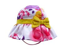 勇发服饰-小清新款儿童花朵印花遮阳户外渔夫帽 桶帽 蝴蝶结定制 -RM293