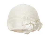 勇发服饰-婴儿纯色蝴蝶结针织套头帽 广州工厂订做 21年制帽经验-RM301