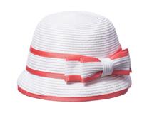 勇发服饰-蝴蝶结简约儿童定型沙滩遮阳草帽 春夏 专业生产定制 -RZ329