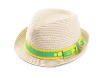 勇发服饰-儿童小清新款定型草帽 广州专业订做  春夏沙滩遮阳帽-RZ353