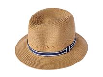 勇发服饰-小男孩简约时尚潮流定型草帽专业加工订制定做 春夏遮阳-RZ355