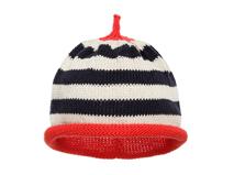 勇发服饰-尖顶条纹针织套头帽 儿童 广州加工定做 21年制帽经验-RM305