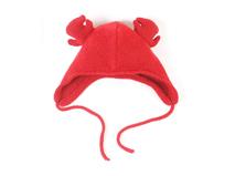 勇发服饰-纯色螃蟹儿童可爱保暖针织毛线帽订制 21年制帽经验 -RM316