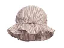 勇发服饰-儿童条纹荷叶边简约户外遮阳大边遮阳帽 春夏订制-RM320