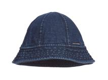 勇发服饰-洗水做旧牛仔简约儿童桶帽 户外遮阳渔夫边帽 春夏定做-RM324