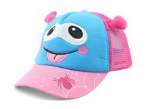 勇发服饰-春夏儿童可爱卡通动物透气五页棒球网帽定做 小清新款-RM332
