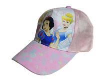 勇发服饰-女童白雪公主可爱春夏透气遮阳帽 五页棒球帽订制-RM341