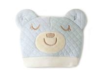 勇发服饰-儿童 婴儿卡通小熊贴布绣花时尚菱格可爱套头帽订做 -RM368