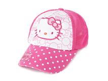 勇发服饰-Hello Kitty小女孩春夏点点绣花印花可爱五页棒球网帽-RM371