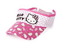 勇发服饰-点点绣花印花混搭Hello Kitty 字母可爱儿童遮阳空顶帽-RM384