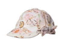 勇发服饰-新款蝴蝶结印花儿童时装帽 棒球帽 小清新款 广州订制-RT327