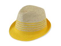 勇发服饰-帽厂专业OEM加工简约撞色拼接夏季遮阳草编定型帽-CZ098