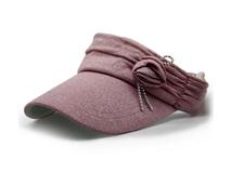 勇发服饰-新款韩版时尚潮流装饰花空顶帽定做 儿童 女士 时装款-KT024