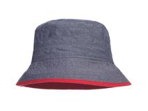 勇发服饰-户外遮阳帽 渔夫边帽 纯色简约 儿童 成人款 广州工厂订做 -YM097