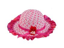 勇发服饰-小清新款女童夏季太阳帽 2015新款 可爱儿童草帽-RZ401